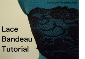 How to Make a Lace Bandeau Video Tutorial