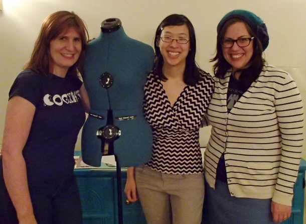 Kate, me & Leila post-podcast recording