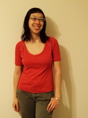 A red top for the new year